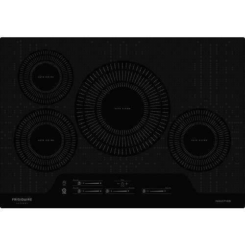 Frigidaire FGIC3066TB 30 Inch Induction Cooktop with Auto Sizing  Pan Detection