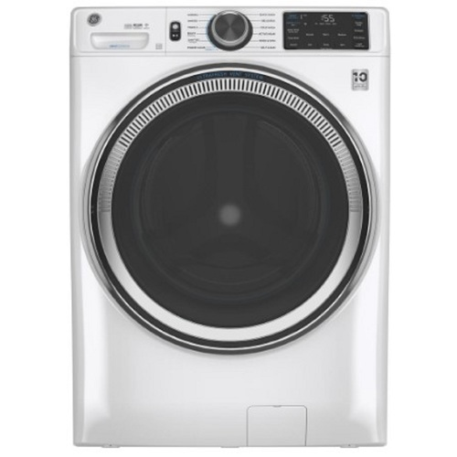 "GE GFW650SSNWW 28"" 4.8 cu.ft. White Front Load Washer"