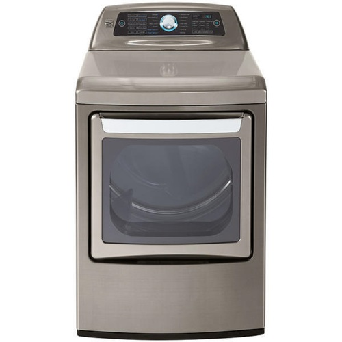 Kenmore Elite 61553   Metallic Silver Electric Dryer with Dual-Opening Door