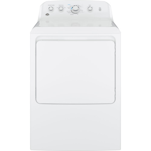 GE Appliances GTD42EASJWW 7.2 cu. ft. Electric Dryer w/ Aluminized Alloy Drum - White
