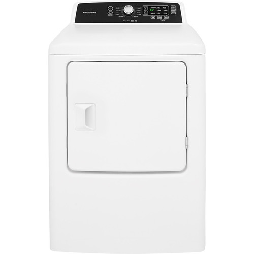 Frigidaire FFRE4120SW 6.7 cu. ft. Freestanding Electric Dryer - White