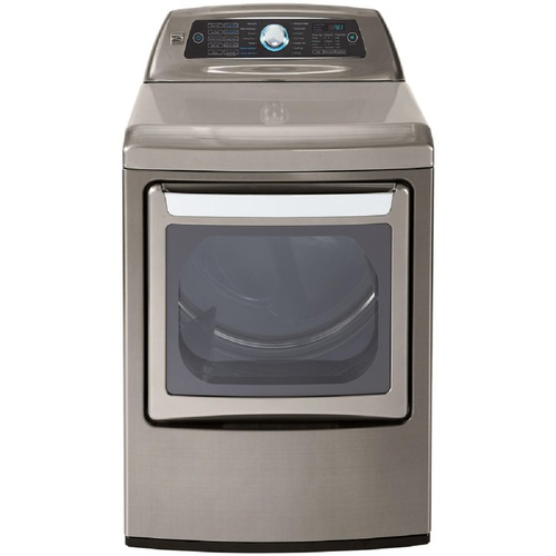 Kenmore Elite 71553   Metallic Silver Gas Dryer with Dual-Opening Door
