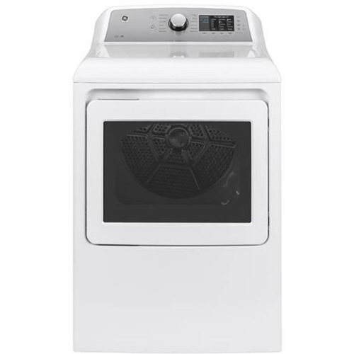 GE Appliances GTD72GBSNWS 7.4 cu. ft. Gas Dryer with HE Sensor Dry - White